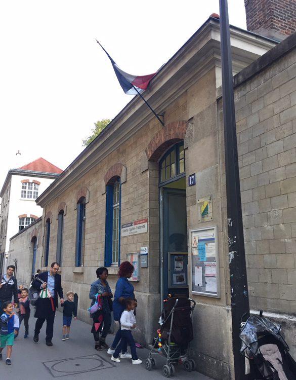 写真 パリの幼稚園
