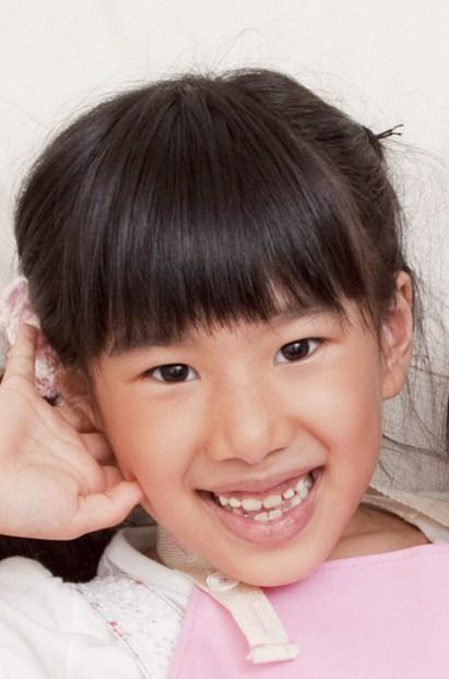 小学1年生、元気なころの優梨香さん(滝村さん提供)
