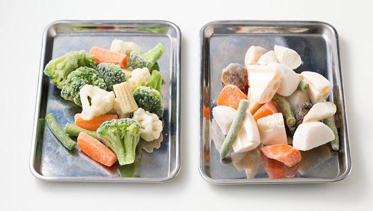 写真 冷凍食品のミックス野菜