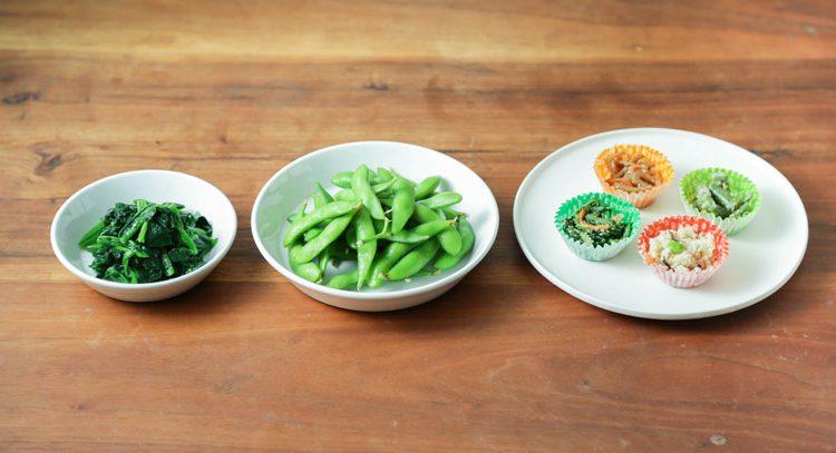 写真 冷凍食品の野菜