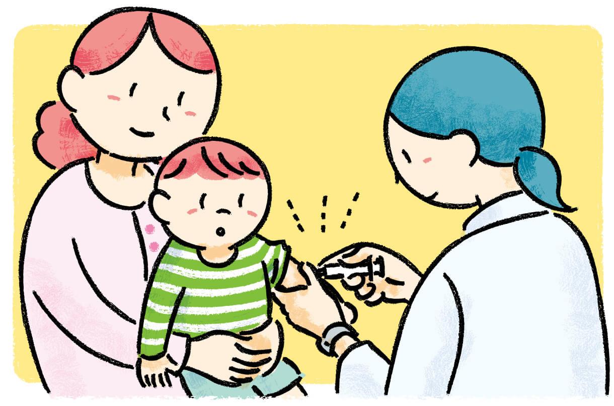 予防接種のイラスト